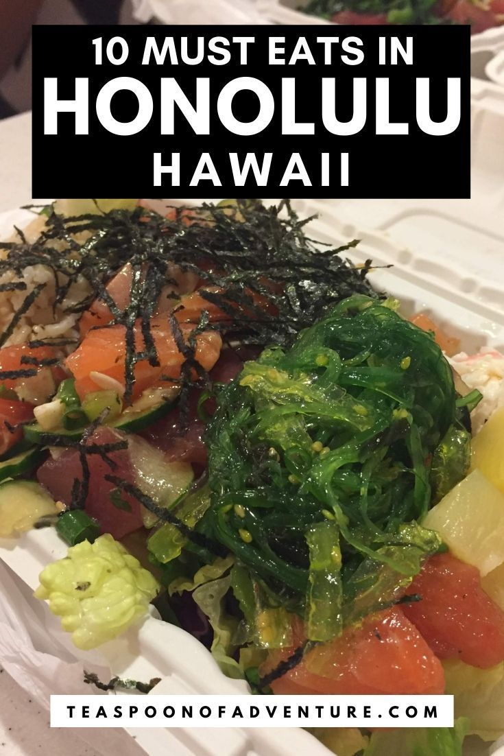 Where To Eat In Oahu Hawaii 50 Best Food Places In 2020 Hawaii Food Foodie Travel Hawaii Foodie