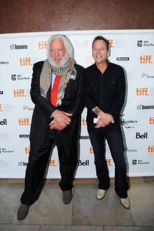 Donald Sutherland and Kiefer Sutherland