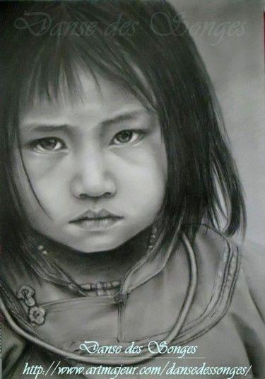 Portrait of a Vietnamese child