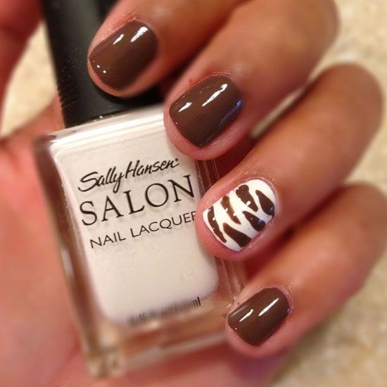 The 25 best brown nail designs ideas on pinterest designs for 30 amazing brown nail designs brownnails naildesigns2015 nailart2015 prinsesfo Image collections