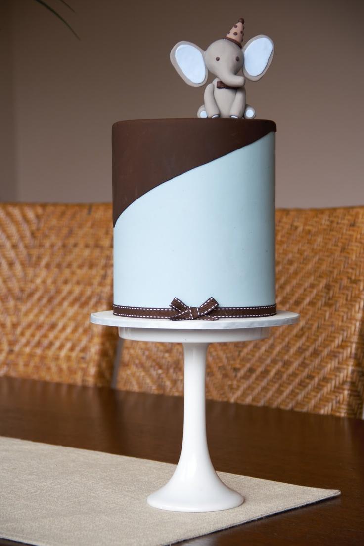 Couture Cupcakes & Cookies: Jaxon's Elephant Cake
