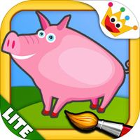 The Farm - Color Your Puzzle and Paint the Animals of the Farm - Coloring, Drawing and Painting Games for Kids - Lite od vývojáře MagisterApp