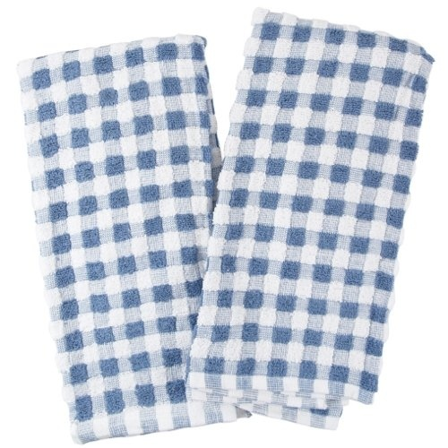 $11.99 Farberware Blue and White Checkered Popcorn Terry Kitchen Towel, Set of 4  From Farberware   Get it here: http://astore.amazon.com/ffiilliipp-20/detail/B002WDSVCC/191-8749654-7779561