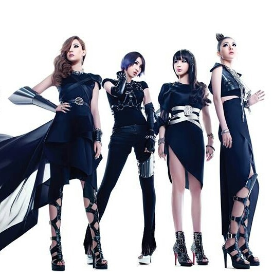 2NE1 I think I liked this band, because I can't understand a word they are singing.
