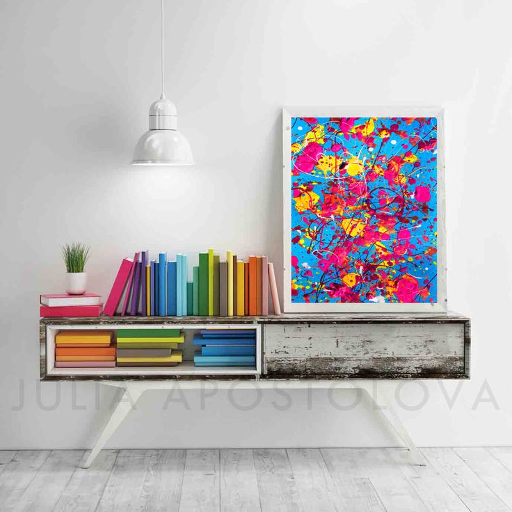 #Blue #AbstractArt, #Blue and #Pink, #PRINT, #Printable #Art, #Colorful #Prints, #WallArt #PrintableArt, #RainbowPainting, #ColorSplash, #HomeDecor #Yellow #Abstract #Colorful #Painting #Rainbow #Print #AbstractPrint #Watercolor #Splash #Color #PRINTABLE #WallArt #Multicolor #Paint #Splashes #Painting #11x14 by #JuliaApostolova on #Etsy #design #ptintableart #home #interior #office #officeart