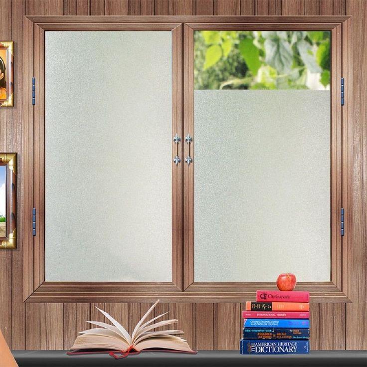 new lifetree noglue vinyl privacy window film frosted window film decorative window film stained - Frosted Window Film