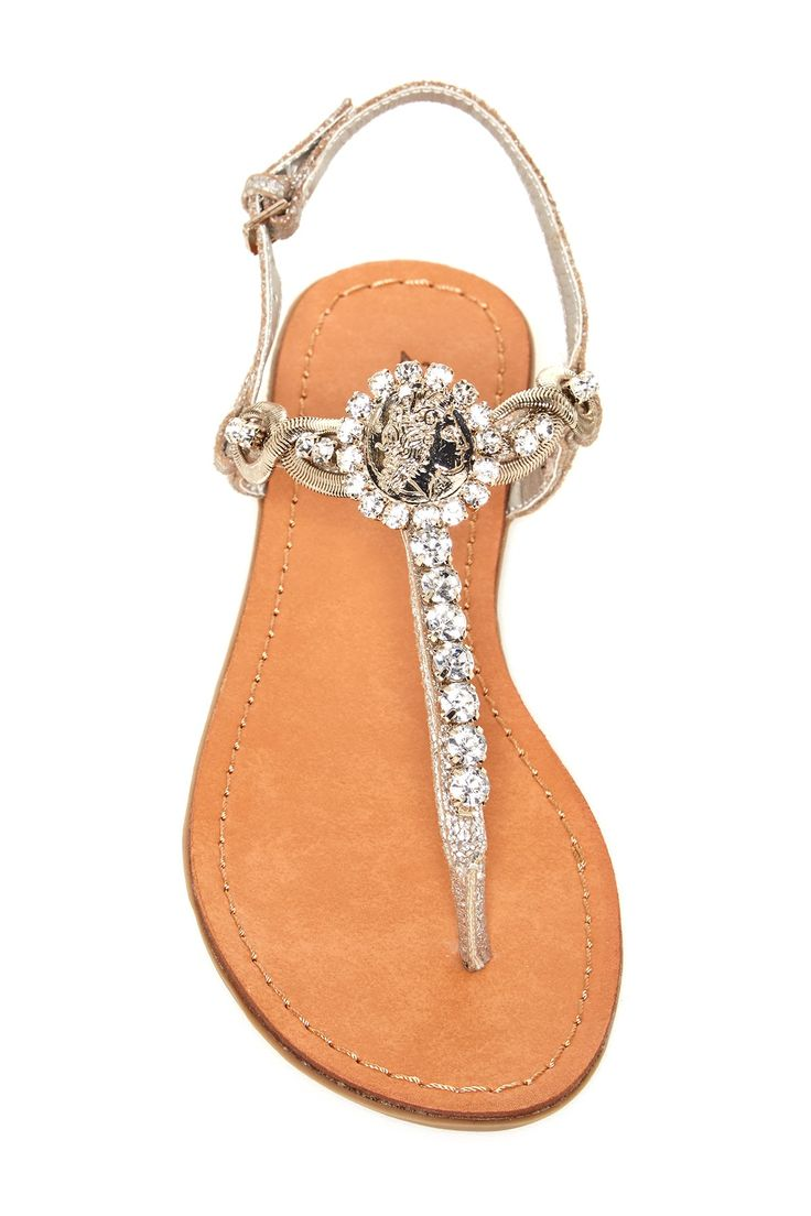 Fandrell Embellished Sandal by Ziginy on @nordstrom_rack