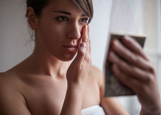 6 myths about wrinkles debunked. NOT A MYTH -  If you're struggling with wrinkles, you want to look for products with retinoic acid derivatives like retinol; antioxidants like vitamin C, resveratrol or green tea extracts; or alpha hydroxy acids like glycolic acid.