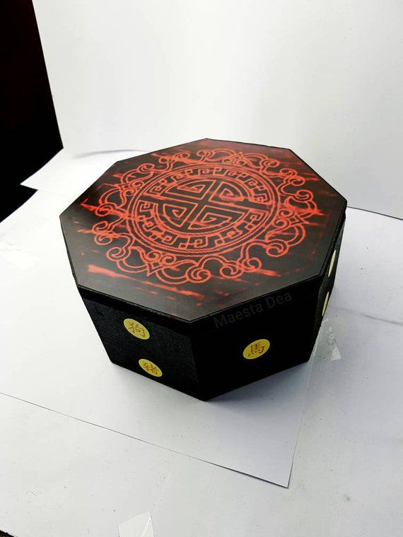 New Miraculous Ladybug Wooden Master Fu Box Chest Miracle