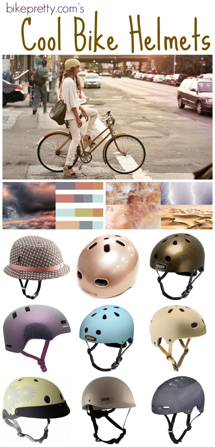 "9 Cool Bike Helmets and where to get them... ""Cool"" is debatable, but they're a necessity."