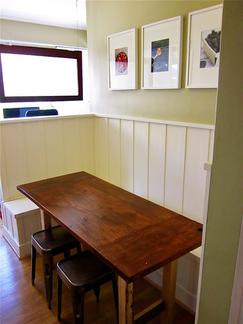 59 best images about dining tables for narrow spaces on for Galley kitchen table ideas