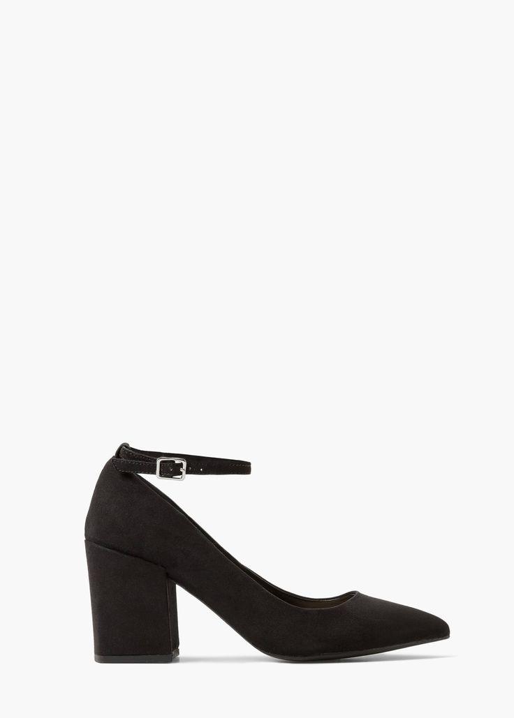 Puntschoenen met enkelbandje - Schoenen voor Dames | MANGO