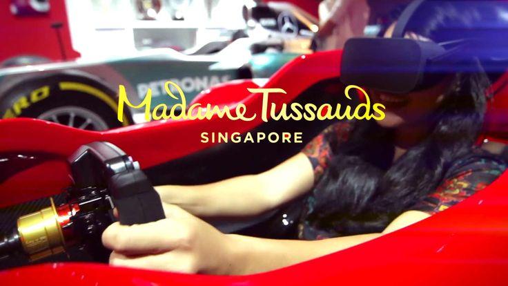 F1 Experience – Madame Tussauds Singapore