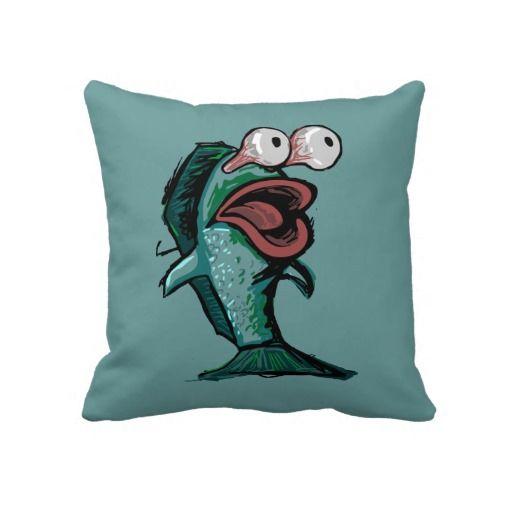Cartoon Fish Pillow