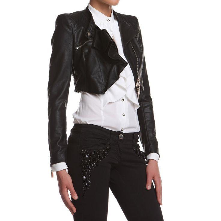 Giacca Johansson: PU Leather  http://shop.mangano.com/it/new-in/16752-giacca-johansson-ecopelle-ne.html