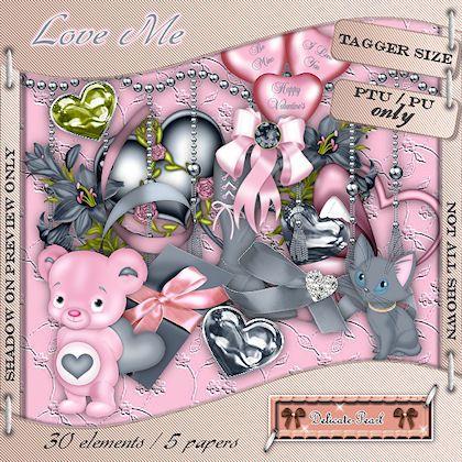 delicate.pearl: Kit Freebie : Love Me