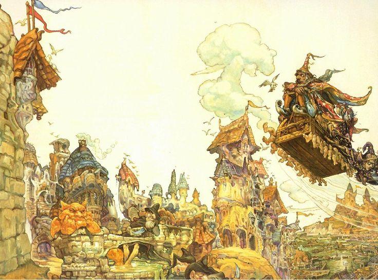 Terry Pratchett's Discworld covers by Josh Kirby (Part 2) (Part 1)