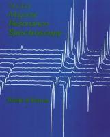 Nuclear magnetic resonance spectroscopy : a physicochemical view / Robin K. Harris #novetatsfiq2017