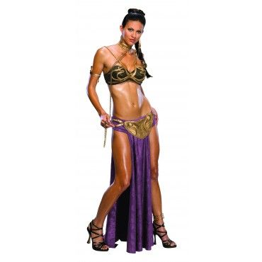 Slave-Outfit Adult Princess Leia Costume - Star Wars