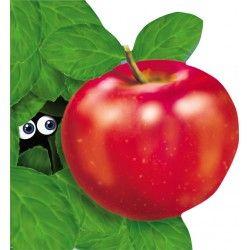 Mărul - Editura Prut; Varsta: 6 luni+; Fructul cel mai popular si recomandat. Sanatate curata transmisa prin imagini realiste si versuri maiestrit, simple de recitat si de iubite mai apoi de copii.