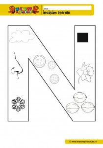 N - 010 - litere de tipar