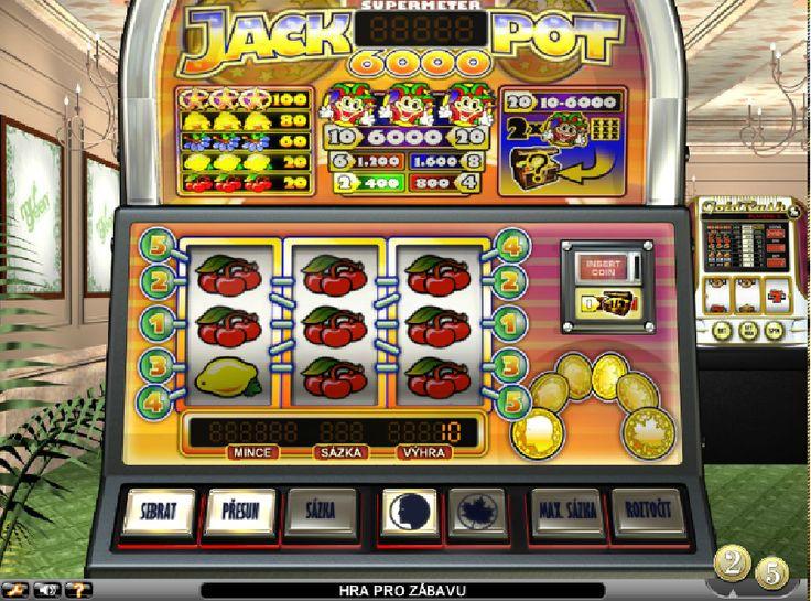 Výherná automatová hra Jackpot6000 - Výherná automatová hra Jackpot6000 zadarmo ponúkne celkom 5 výherných symbolov, vrátane jedného vzácneho. Určite tu nájdete symboly ako Hviezdy, Zvonček, Hrozno, Citrón a Čerešne. #HracieAutomaty #VyherneAutomaty #AutomatoveHry #Jackpot #Vyhra #Jackpot6000