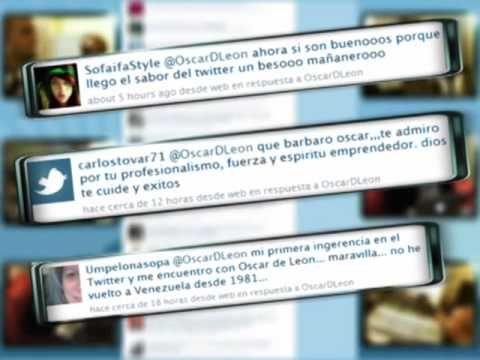 """Oscar D'León - """"Sígueme"""" - Canción sobre Twitter - YouTube letra http://www.musica.com/letras.asp?letra=1934342"""