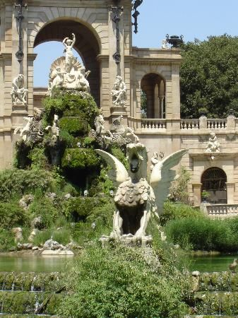 Parc de la Ciutadella - Barcelona - basically Central Park of Barcelona.  Could paddle boat, rent bikes, picnic, etc...