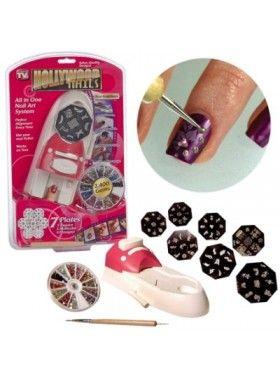 Ηollywood Nails για να διακοσμείτε μόνες σας τα νύχια σας