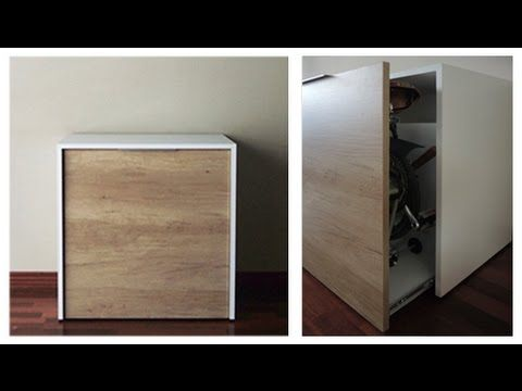 Brompton bike storage - muebles para bicicletas Brompton - YouTube