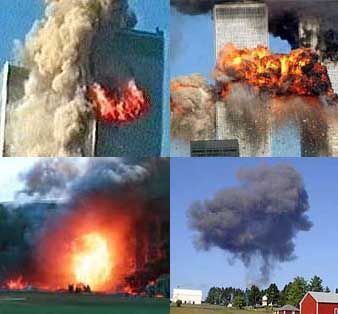 America is attacked in 3 States 9/11/2001
