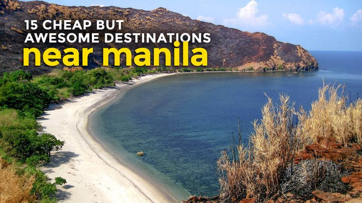 Batangas, Zambales, Quezon, Laguna and Puerto Galera! If you're looking for cheap but great vacation spots near Manila, here are some of my recommendations.