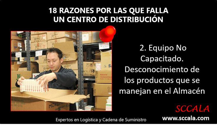 2. Equipo No Capacitado. Desconocimiento de los productos que se manejan en el Almacén