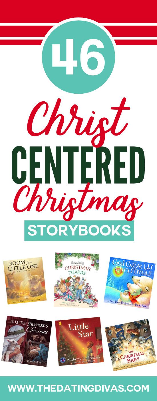 Christ-Centered Christmas Books for Kids - Cuddle up under the Christmas tree with a good book that teaches about Jesus and the true meaning of Christmas. #christcenteredchristmas #keepchristinchristmas