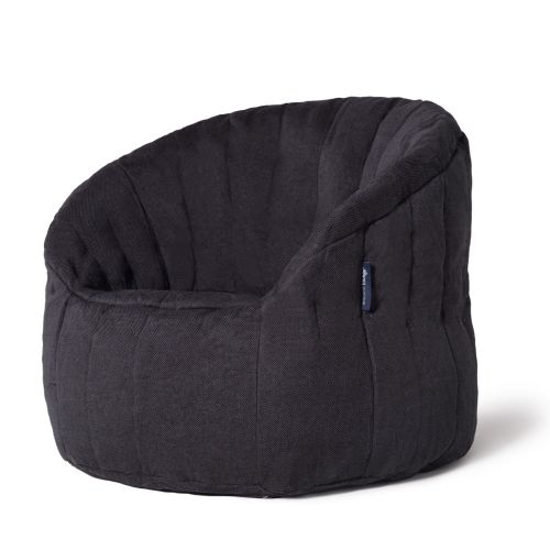 Interior Bean Bags Chair | Butterfly Sofa - Black Sapphire | Bean Bag Australia