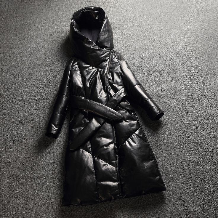 Купить 2015 европейский зима новый кожаный с капюшоном овечьей шкуре кожаная куртка длинную женскийи другие товары категории Кожа и замшав магазине Online Store 839683наAliExpress. покрытие холст и пальто обезьяны