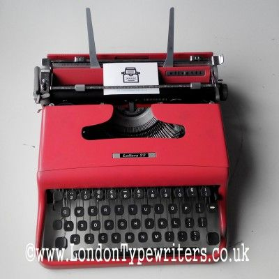 Rare 1960's pink Olivetti 22 manual typewriter. Amazing colour, working condition and comes with the original manual, dust cover and case! For sale at www.LondonTypewriters.co.UK! #londontypewriters #vintage #decor #vintagetypewriter #retro #prop #literature #poetry #retrodecor #collectable #typewriter #art #home #homedesign #lifestyle #poets #novel #writers #typewriterfont #keys #old #london #uk #ebay #etsy #pink #olivetti #nofilter #italian #1960s