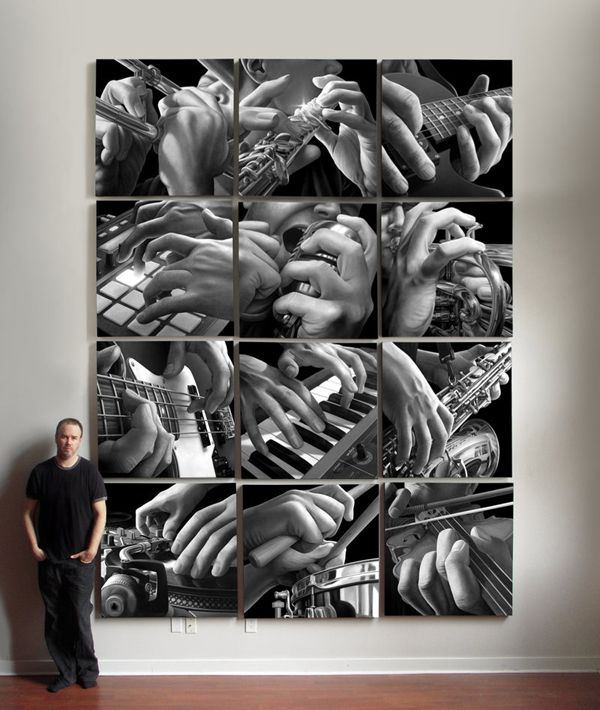 The Musician's Hands by Jeff Bartels - ego-alterego.com   AP Art concentration idea?