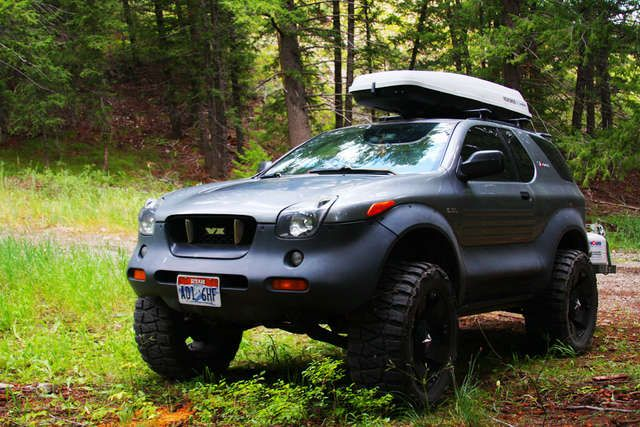Isuzu Vehicross - one of these most underrated designed vehicles, still want one.