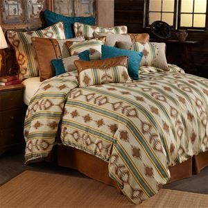 Delectably Yours Alamosa Southwestern Bedding Comforter Set by HiEnd Accents #DelectablyYours Western Southwestern Bed and Bath Decor