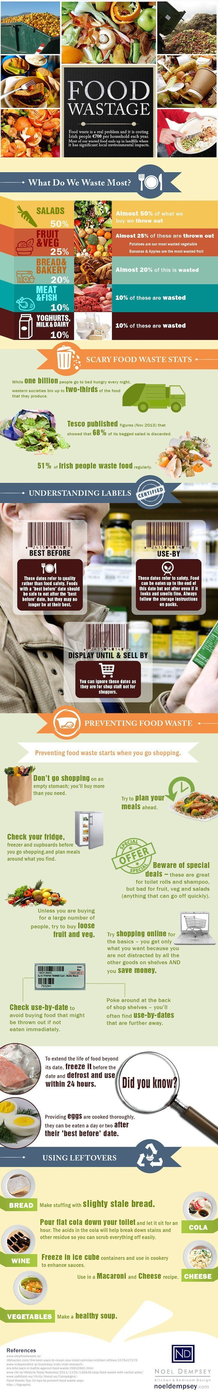 food waste, obesity, infographic, user generated content, reader submissions, food thrown away, wasting food, infographic about food waste, ireland food waste, UK food waste, world hunger,