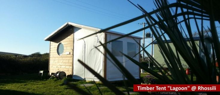 Camping holidays Wales - your luxury Timber Tent