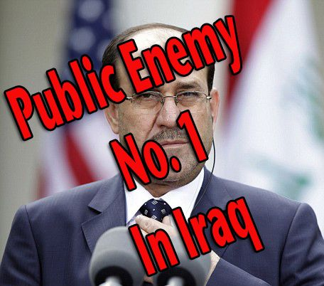 The Iraqi's are now united in their fight to finally free Iraq from it's Rothschild US/Iranian puppet, Nouri al-Maliki.