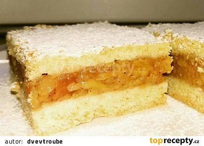 Jablečný koláč našich babiček recept - TopRecepty.cz