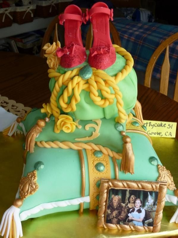 Wizard Of Oz Cake Decorating Kit : 17 Best images about Wizard of Oz Cake Ideas on Pinterest ...