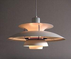 PH5 lamp by Poul Henningsen (1958). Danish design at its best.