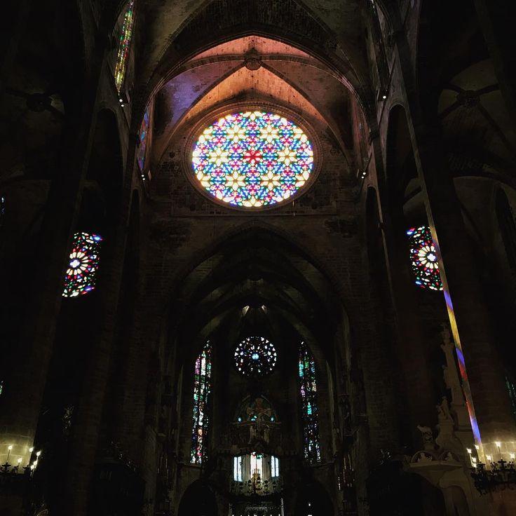 #mallorca #holiday #cathedrals #palmademallorca #travel #instatravel