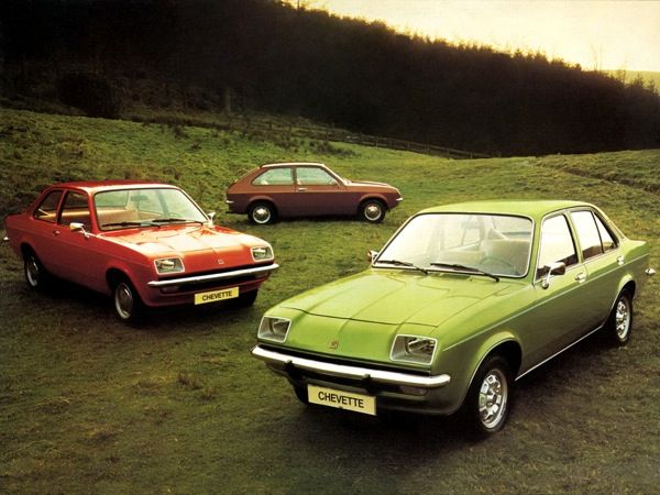 Unsung Heroes : Vauxhall Chevette - but what a flipping terrible colour palette