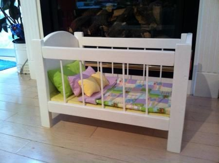 Baby Doll Crib Do It Yourself Home Projects From Ana