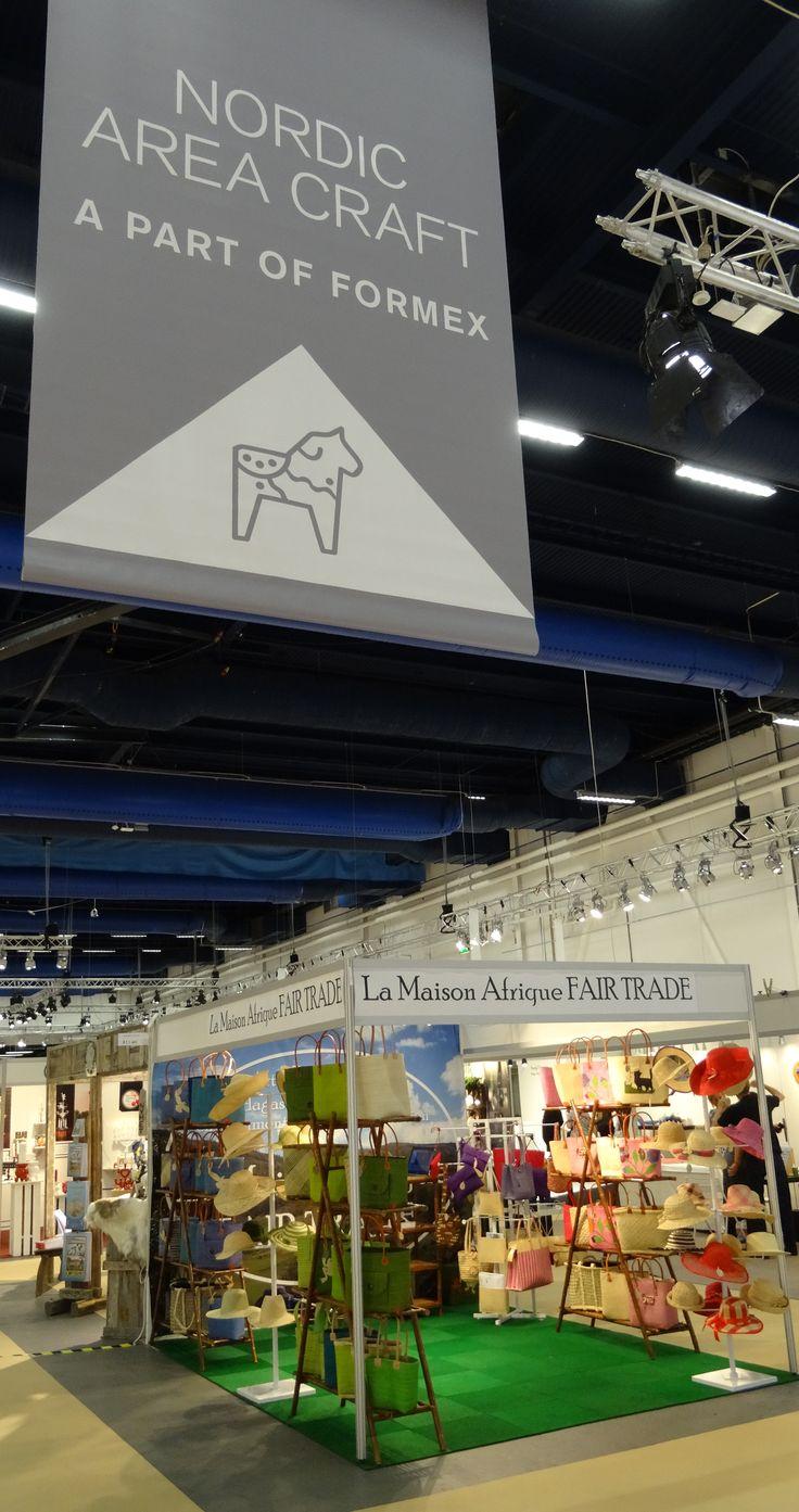 #Fairtrade #Crafts at #Formex Stockholm International Fairs